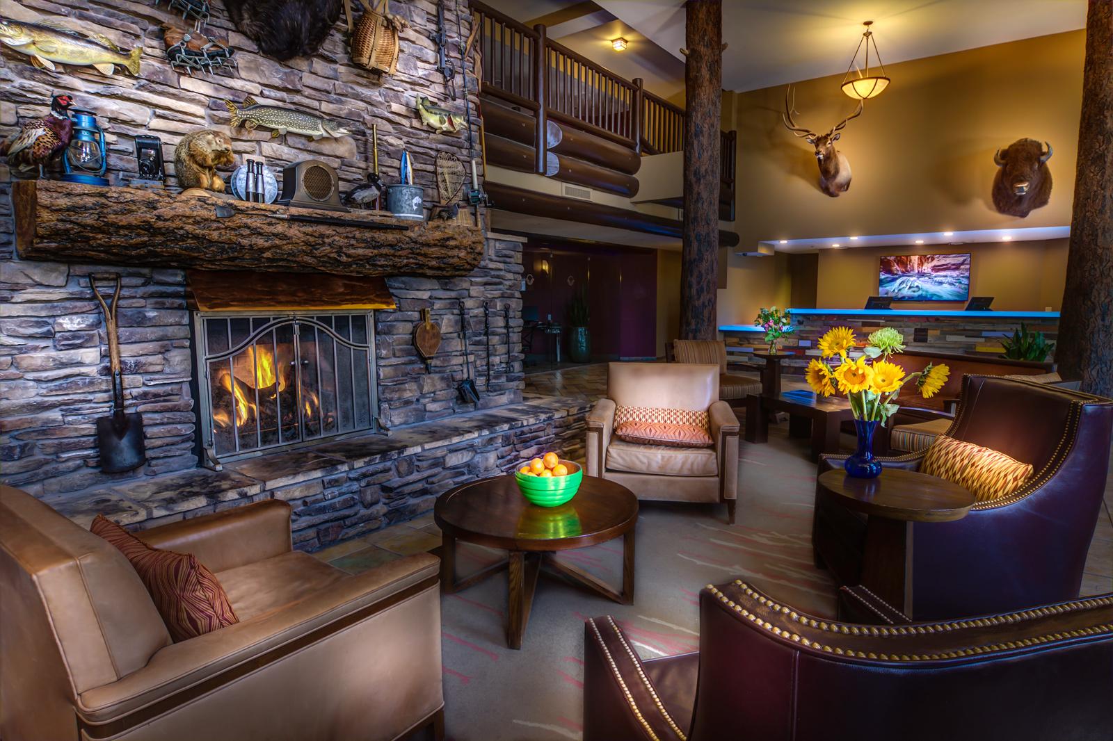 The Grand Hotel Lobby
