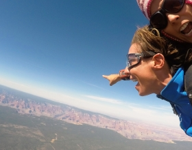 Skydive Over the Canyon